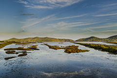 Salines Ibiza de Ses Photographie stock libre de droits