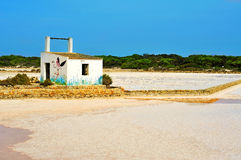 Salines Natural Park in Formentera Stock Photo