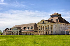 Salines Royales. The Saline Royale (Royal Saltworks) is a historical building at Arc-et-Senans in the department of Doubs, eastern France.  It was created by the Stock Image