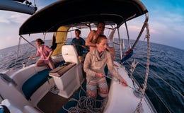 Saling fartyg Fotografering för Bildbyråer