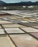 Salino em Lanzarote no.1 Fotografia de Stock Royalty Free