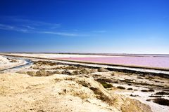 Salins-de-Giraud (Camargue, France) Royalty Free Stock Photo