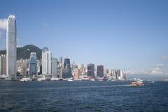 Salir de Hong-Kong Foto de archivo libre de regalías