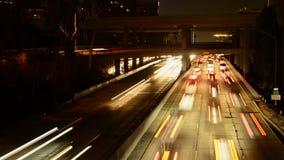 Salir de Los Ángeles en la carretera almacen de metraje de vídeo