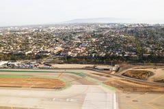 Salir del aeropuerto de Los Ángeles Imágenes de archivo libres de regalías