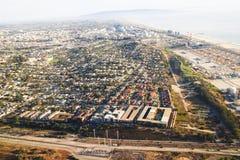 Salir del aeropuerto de Los Ángeles Fotografía de archivo libre de regalías