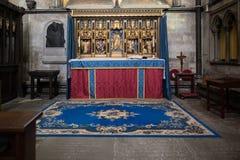 SALISBÚRIA, WILTSHIRE/UK - 21 DE MARÇO: A capela de St Michael fotografia de stock