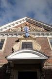SALISBÚRIA, WILTSHIRE/UK - 21 DE MARÇO: Fachada da faculdade 1 das matronas fotografia de stock