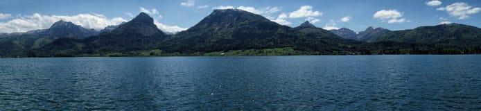 Salisburgo, alpi mistiche dell'Austria Immagini Stock Libere da Diritti