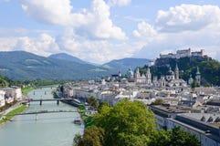 Salisburgo, Austria Immagine Stock Libera da Diritti