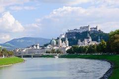 Salisburgo, Austria Fotografia Stock Libera da Diritti