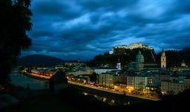 Salisburgo in Austria Fotografia Stock