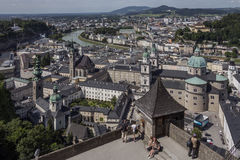 Salisburgo - l'Austria Immagine Stock