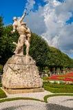 Salisburgo Mirabellgarten Fotografia Stock Libera da Diritti