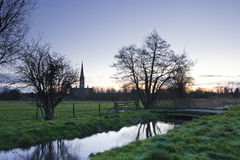Salisbury cathedral Royalty Free Stock Photography