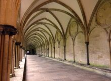 Free Salisbury Cathedral Cloisters, Salisbury, England Stock Photography - 181971502