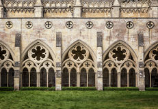Salisbury Cathedral Cloisters royalty free stock images