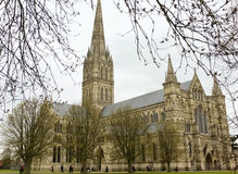 Salisbury Cathedral, England Royalty Free Stock Photo