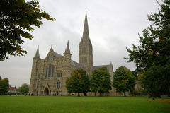 Salisbury cathedral Stock Photos