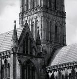 Salisbury Cathedral Roof Royalty Free Stock Photos