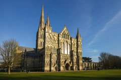 Salisbury cathedral. The Salisbury cathedral, in Salisbury, Wiltshire, England stock images