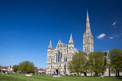 Salisbury Cathedral Wiltshire England UK Royalty Free Stock Photos