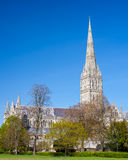 Salisbury Cathedral Wiltshire England UK Royalty Free Stock Photography