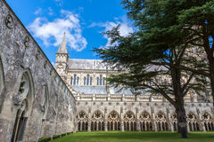 Salisbury Cathedral, Wiltshire, England, UK Stock Photos