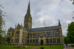 Salisbury Cathedral, Wiltshire Stock Image