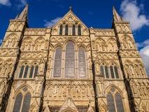 Salisbury domkyrka Arkivfoto