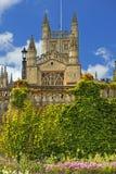 Salisbury domkyrka i England Arkivbild
