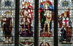 St Thomas and St Edmunds Church - Memorial Window in the South A royalty free stock photos