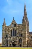 Salisbury katedra Zdjęcie Royalty Free