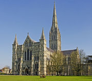 Salisbury katedra Zdjęcia Royalty Free