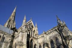 Salisbury katedralny Wiltshire zdjęcie royalty free