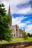 Salisbury Katedralny Wiltshire Południowy Zachodni Anglia UK Obrazy Stock