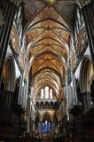 Salisbury-Kathedrale Stockfotografie