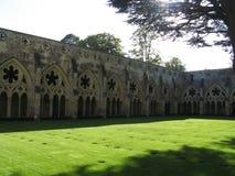 Salisbury-Kathedrale stockbilder