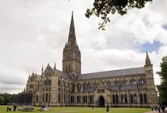 Salisbury-Kathedrale Stockbild