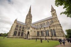 Salisbury-Kathedrale Lizenzfreie Stockbilder