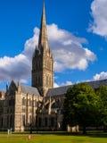 Salisbury-Kathedrale Stockfoto