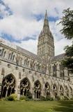 Salisbury-Kathedrale, England Lizenzfreies Stockfoto