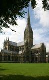 Salisbury-Kathedrale England Lizenzfreie Stockfotos
