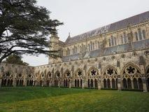 Salisbury-Kathedrale in Salisbury lizenzfreies stockfoto