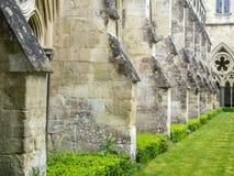 Salisbury-Kathedralenkloster lizenzfreie stockfotografie