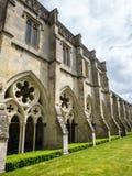 Salisbury-Kathedralenkloster stockbilder