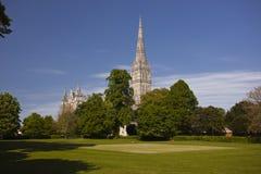 Salisbury spire Stock Image