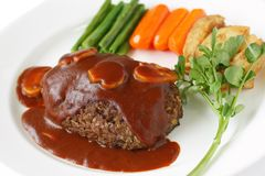 Salisbury steak Stock Images