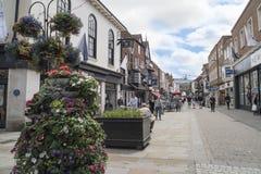 Salisbury street life Stock Images