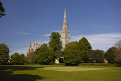 Salisbury tornspira Fotografering för Bildbyråer